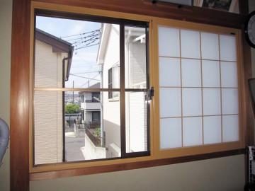 LXIIL : 和室の内窓