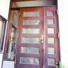 玄関ドアががたついて開閉の調子が悪くなってきたので新しいものにしたい