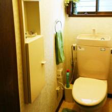 Before : 老朽化に伴いトイレをリフォームしたい