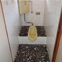 Before : 2Fトイレ 段差のある和便器